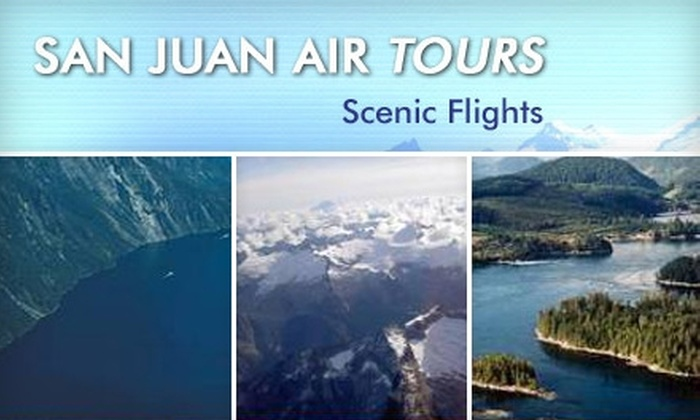 San Juan Air Tours - Friday Harbor: Aerial Whale-Watching Tour with San Juan Air Tours in Friday Harbor. Choose from Two Options.
