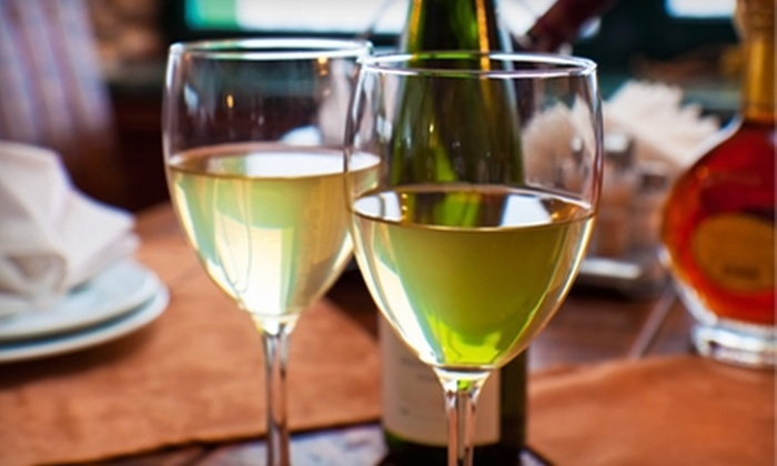 Talon Winery & Vineyards - Multiple Locations: $20 for a Wine Tasting for Two, a Bottle of Wine, and Two Souvenir Wine Glasses at Talon Winery & Vineyards (Up to $41 Value)