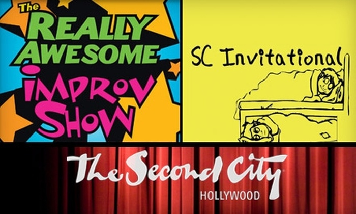 The Second City Hollywood - Hollywood: $10 for Two Tickets to an Improv Show at The Second City in Hollywood ($20 Value). Choose Between Two Shows.