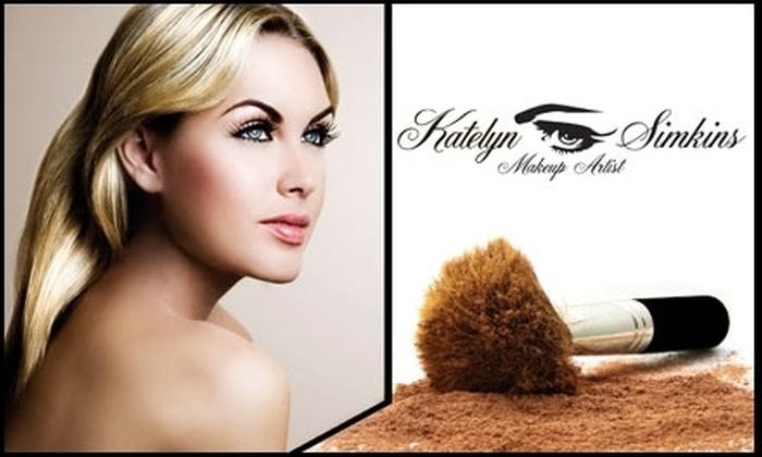Katelyn Simkins Makeup Artist - Denver: $49 for a One-Hour Makeup Lesson with Katelyn Simkins, Makeup Artist ($100 Value)