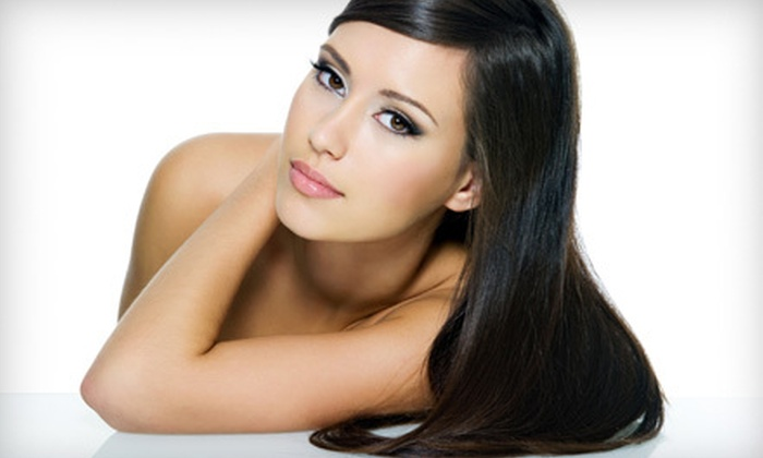 J & S Salon - Liberty Highlands: Salon Packages at J & S Salon (Up to 52% Off). Three Options Available.
