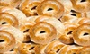The Bagel Club - Multiple Locations: $10 for a Dozen Bagels, Cream Cheese, and More at The Bagel Club in Bayside