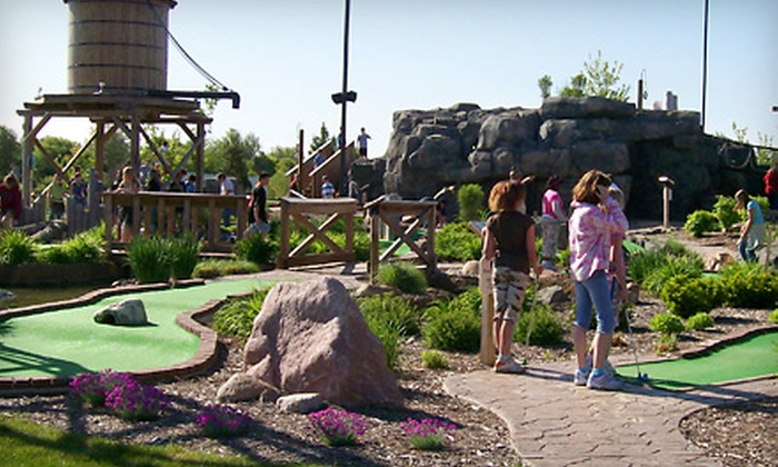 Stone Mountain Family Fun Center - Tecumseh: $10 for Four Rounds of Mini Golf at Stone Mountain Family Fun Center in Tecumseh (Up to $30 Value)