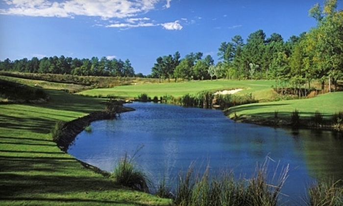 Grand Harbor Golf & Yacht Club - Ninety Six: $58 for a Round of Golf for Two with Cart at The Patriot Golf Course at Grand Harbor Golf & Yacht Club in Ninety Six ($116 Value)