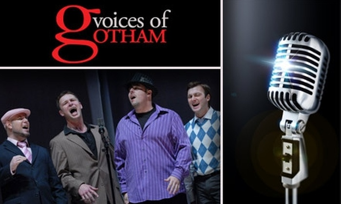 Voices of Gotham Chorus - New York City: $50 for a Singing Valentine Quartet From Voices of Gotham Chorus ($75 Value)