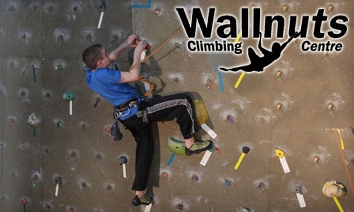 Wallnuts Climbing Centre - Central St. John's: $59 for Beginner's Course and One-Month Pass Including Rentals at Wallnuts Climbing Centre