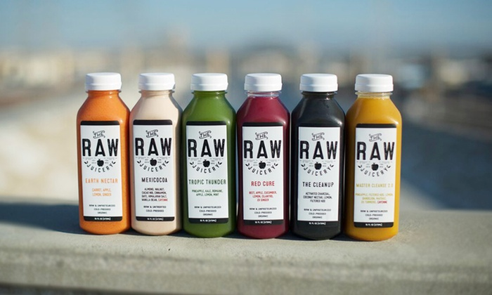 The Raw Juicery: 3- or 6-Day Cleanse with Local Delivery from The Raw Juicery (Up to 30% Off)