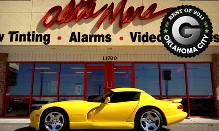 Alta Mere - South Oklahoma City: $99 for a Full Viper Window Tinting at Alta Mere (Up to $229 Value)