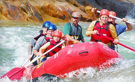 One 2-Hour Whitewater Rafting or Rock Climbing Experience - Adventure Sports Center International in McHenry