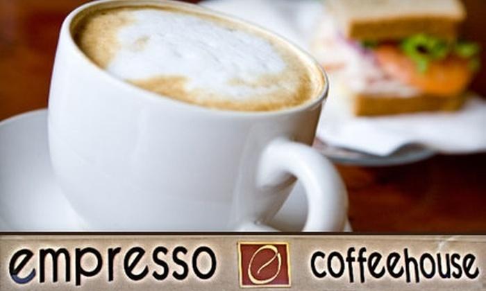 Empresso Coffeehouse - Stockton: $10 for $20 Worth of Barista Beverages and More at Empresso Coffeehouse