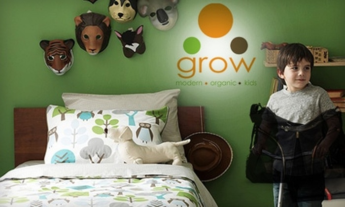 Grow Modern Kids - Wicker Park: $25 for $50 Worth of Children's Apparel and Gifts or $99 for $225 Toward Children's Furniture at Grow Modern Kids