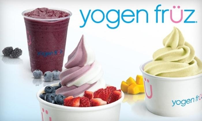 Yogen Früz - Multiple Locations: $3 for $6 Worth of Frozen Treats from Yogen Früz