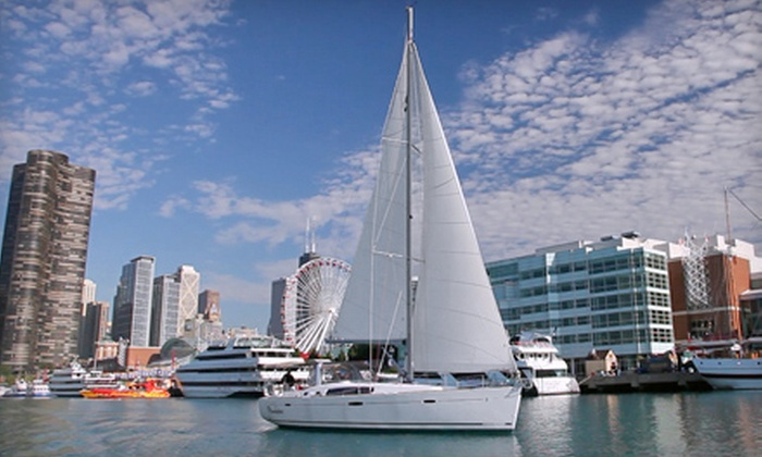 Tall Ship Adventures of Chicago - Near North Side: $199 for a 2.5-Hour Semiprivate Sail for Two from Tall Ship Adventures of Chicago (Up to $587.50 Value)
