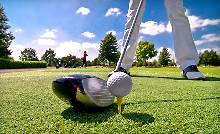 Two 9-Hole Rounds of Golf and a Small Bucket of Range Balls (a $26 value) - The Lutz Executive Golf Center in Lutz