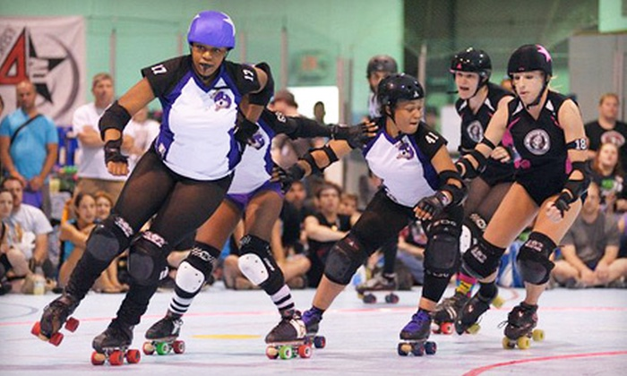 River City Rollergirls - City Center: $12 for Roller-Derby Night for Two to River City Rollergirls on February 25 at 5 p.m. (Up to $24 Value)