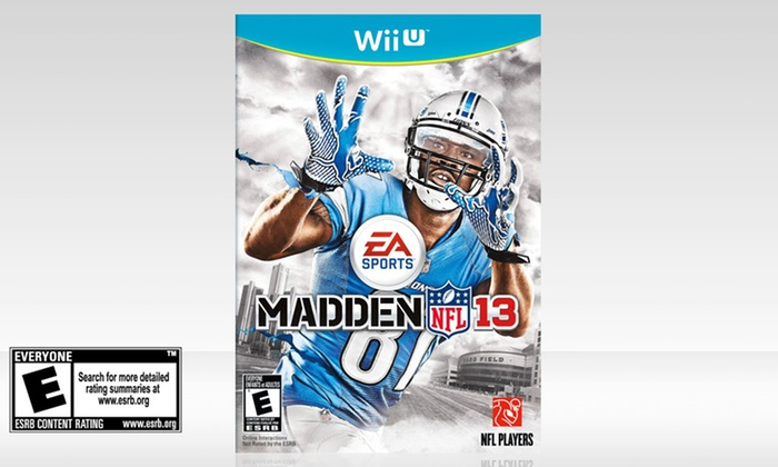 Madden 13 for Wii U: Madden 13 for Wii U. Free Returns.