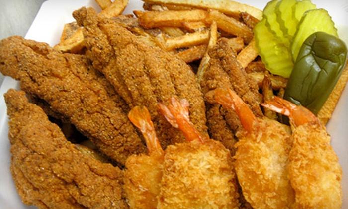 Catfish Fridays - Wolf Creek: Half Off Catfish and Shrimp at Catfish Fridays. Two Options Available.