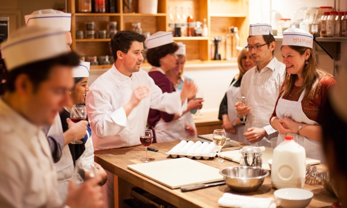 Byob french cooking class cook au vin groupon for Julia child cooking school
