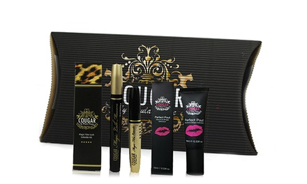One £11.99 or Two £22.99 Perfect Lip Pout and Mascara Sets