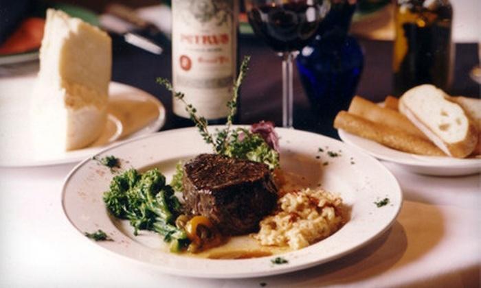 La Bistecca Italian Grille - Livonia: $25 for $55 Worth of Italian Fare and Drinks at La Bistecca Italian Grille in Plymouth