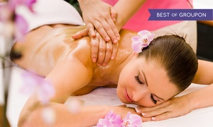 SpaBeca: Massage with Infrared Treatments or Body-Wrap Package at Spa Beca (Up to 81% Off). Three Options Available.