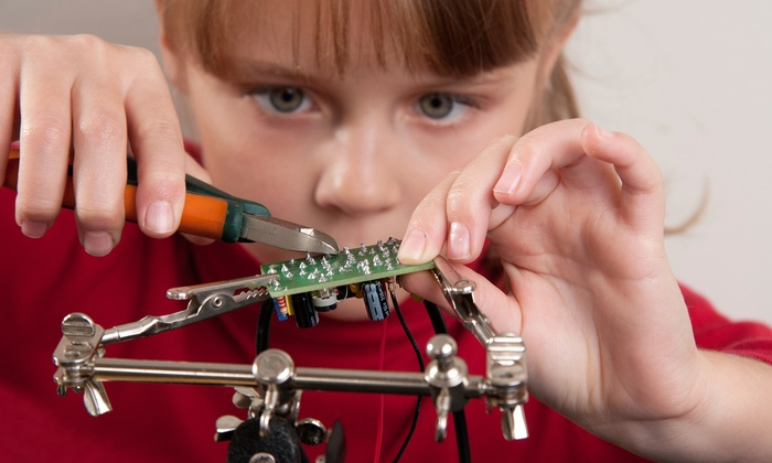 $239 for a Five-Day Kids' Science Camp from Destination Science. 14 Options Available.
