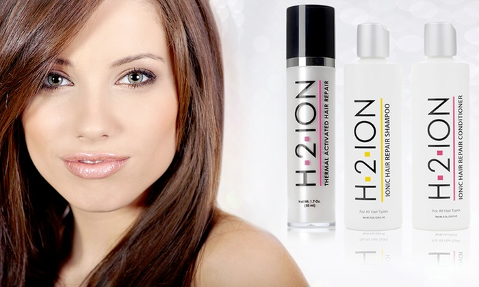 H2Ion Hair Serum, Shampoo, or Conditioner: H2Ion Hair Serum, Shampoo, or Conditioner. Multiple Options Available from $13.99–$24.99.