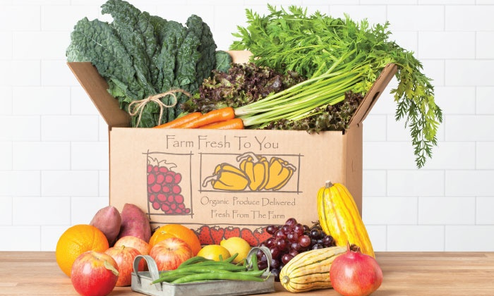 Farm Fresh To You - Sacramento: $17 for $33 Worth of Delivered Organic Produce from Farm Fresh To You