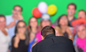 Green Screen Miami: 3 Hours or 45-Minutes of Photobooth Rental or 90 Minutes of Hashtag Live from Green Screen Miami (Up to 60% Off)