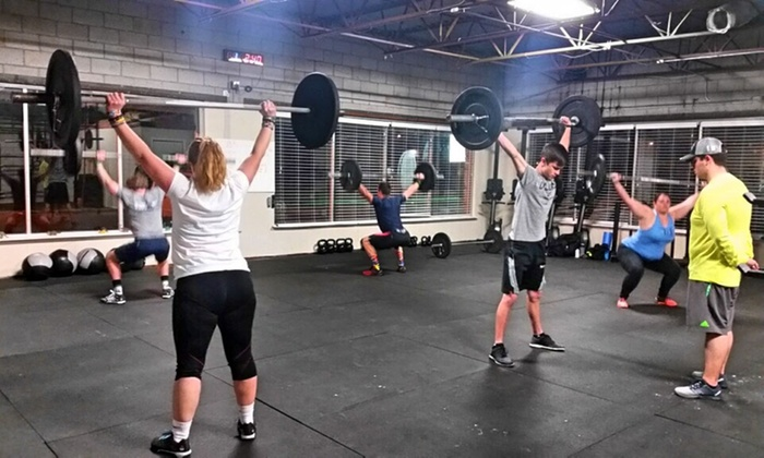 Jurassic Crossfit - Nicoma Park: One Month of Unlimited CrossFit Classes for One or Two at Jurassic CrossFit (Up to 69% Off)