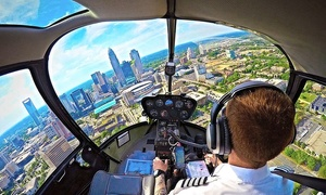 Queen City Helicopter Corp.: Lake Norman or Queen City Tour for One from Queen City Helicopter Corp. (Up to 65% Off)