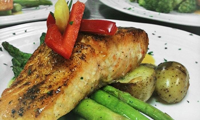 Bell House Restaurant - Shelbyville: Gourmet American Lunch or Dinner Cuisine at Bell House Restaurant (Up to 52% Off)