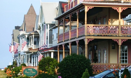 Stay at The Ocean Plaza Hotel in Ocean Grove, NJ, with Dates into November