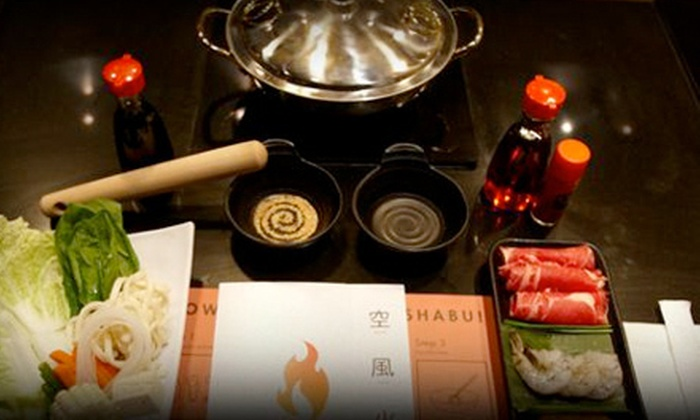 Ka Shabu - Downtown Huntington Beach: $15 for $30 Worth of Shabu-Shabu Cuisine at Ka Shabu in Huntington Beach