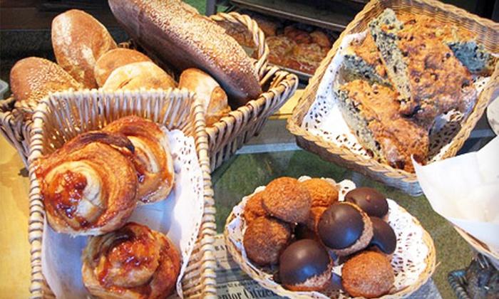 Bovine Bakery - Petaluma: $9 for Lunch, Drinks, and Dessert for Two at Bovine Bakery in Petaluma (Up to $21.75 Value)