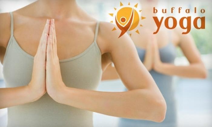 Buffalo Yoga - Leroy: $15 for Two Weeks of Unlimited Yoga at Buffalo Yoga ($30 Value)