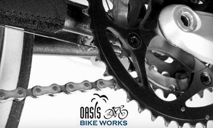Oasis Bike Works - Fairfax: $40 for a Basic Bike Tune-Up at Oasis Bike Works in Fairfax