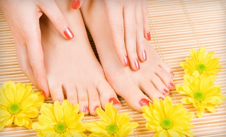 90-Minute Mani-Pedi ($84 Value) - Bella Vita Salon and Day Spa in North Providence