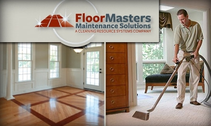 FloorMasters Maintenance Solutions - Houston: $75 for a Three-Area Carpet Cleaning by FloorMasters Maintenance Solutions ($150 Value)