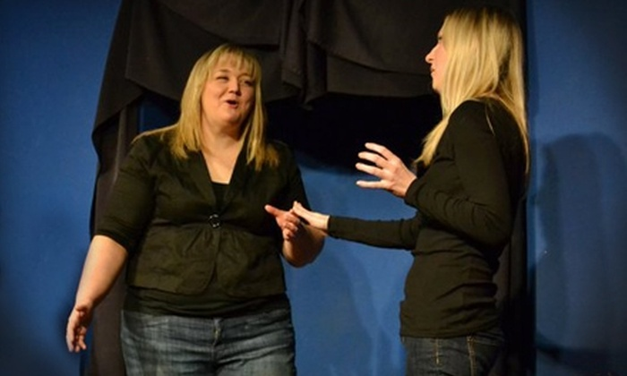 Roving Imp Theater & Coffee House - Bonner - Loring: Improv Comedy Packages at Roving Imp Theater & Coffee House in Bonner Springs. Two Options Available.