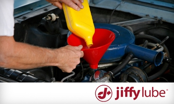 Jiffy Lube - Multiple Locations: $45 for Vehicle Care Package at Jiffy Lube ($90 Value)