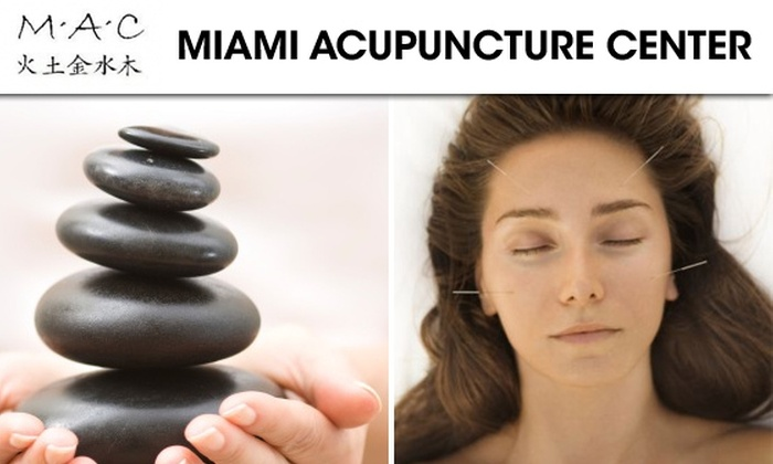 Miami Acupuncture Center - Coral Gables Section: $32 for One-Hour Acupuncture Session and Massage at Miami Acupuncture Center ($115 Value)