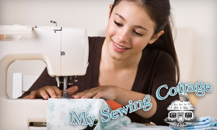 My Sewing Cottage - Highland Square: $40 for Four Sewing Classes at My Sewing Cottage ($80 Value)