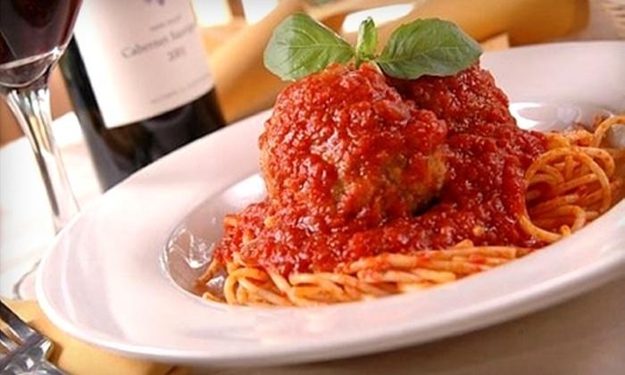 Caruso's Cucina Italiana - North Hills West: $10 for $20 Worth of Italian Fare and Drinks at Caruso's Cucina Italiana in North Hills