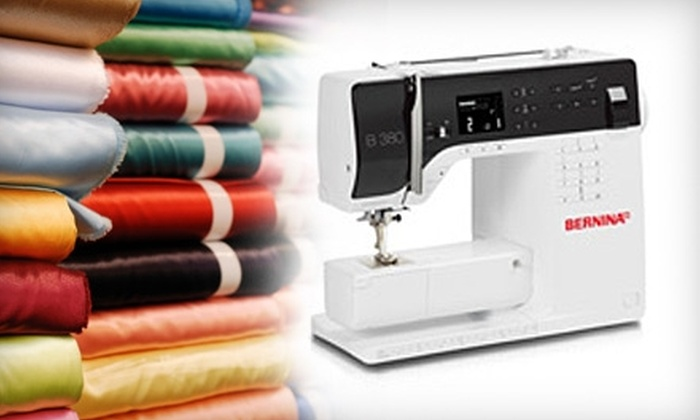 Bernina Northwest - Pinehurst: $19 for a Two-Session Introductory Sewing Class at Bernina Northwest ($70 Value)