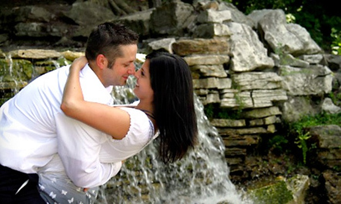 Aesthetics Studios - Brentwood: $89 for a One-Hour On-Location Engagement Photo Shoot with Image CD and Two Prints from Aesthetics Studios ($270 Value)