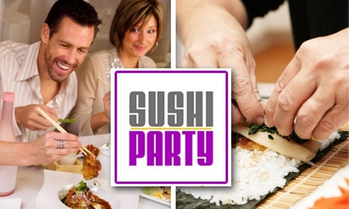 Sushi Party - Atlanta: $150 for an All-Inclusive Sushi Party at Your Home ($300 Value)