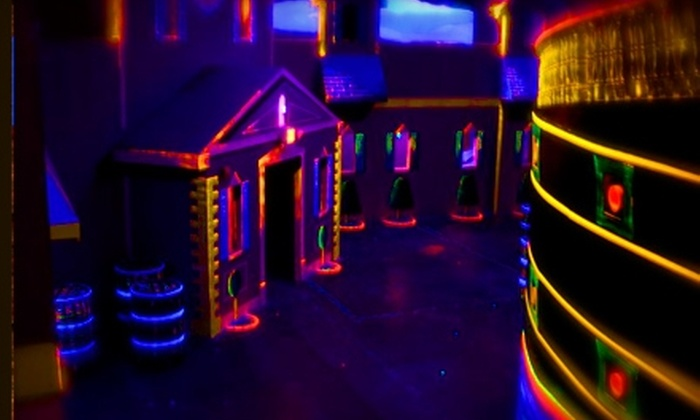 Scallywag Tag - Multiple Locations: $7 for Two Games of Laser Tag at Scallywag Tag ($13 Value)