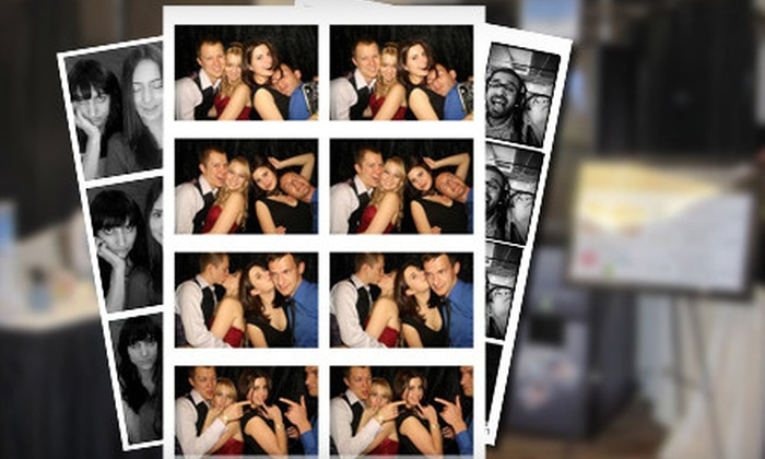 null - Eagle River Valley: $699 for a Photo-Booth-Rental Package with Unlimited Photos and Attendant from PartyPix ($1,400 Value)