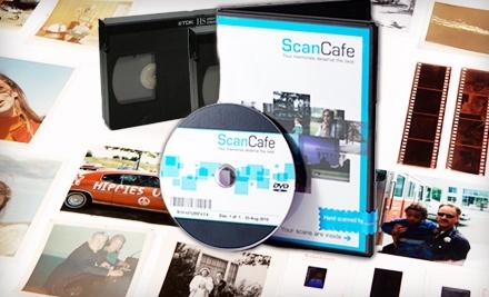 $100 Groupon to ScanCafe  - ScanCafe in